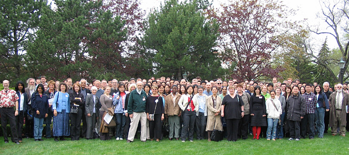 Faculty, staff, and students of the Department of Biochemistry - May, 2005