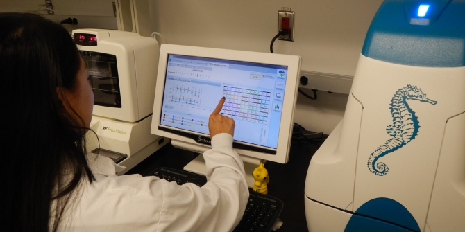 Photo fromSickKids Proteomics, Analytics, Robotics & Chemical Biology Centre (SPARC BioCentre)