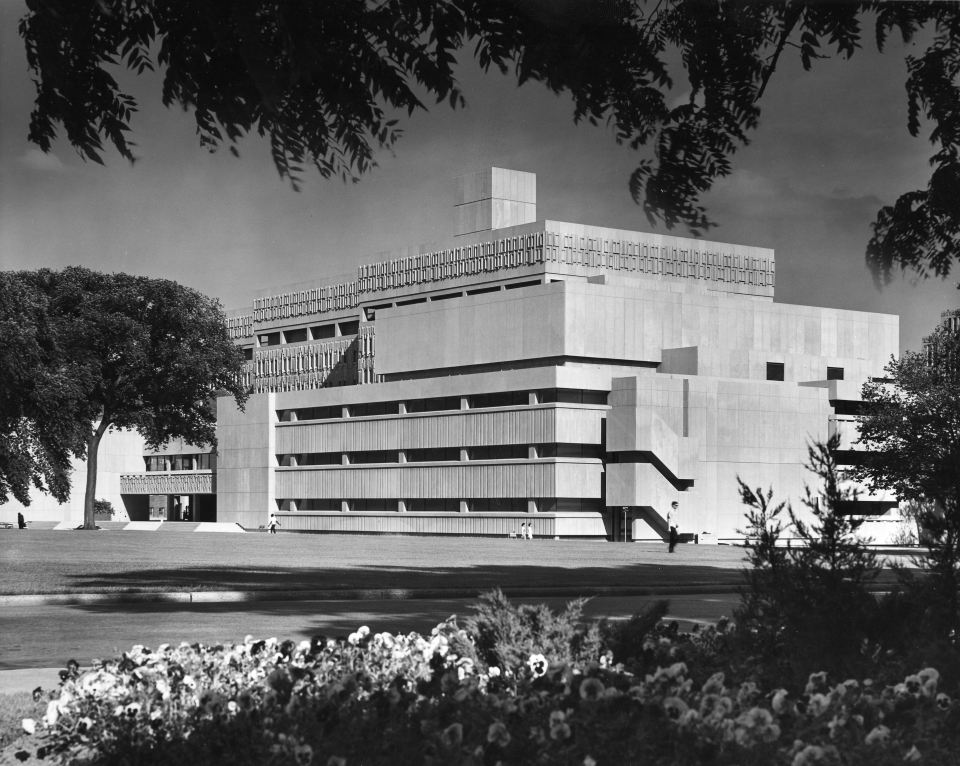 New Medical Sciences Building 1968