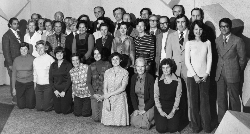 Faculty and Staff 1976