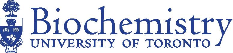 Biochemistry, University of Toronto