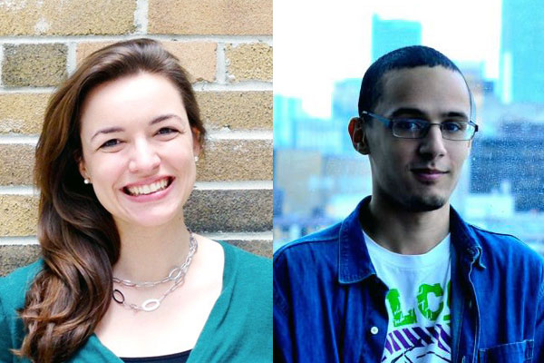 Photos courtesy Caroline Leps and Moustafa Abdalla, via U of T News.