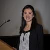 Stella Lu (Grinstein lab) leads off the student talks