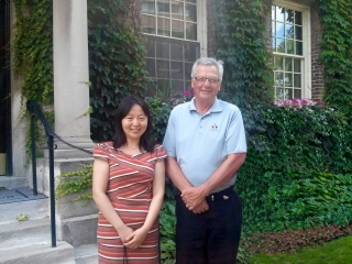 Photo of Xiaoyun Bai and Reinhart Reithmeier