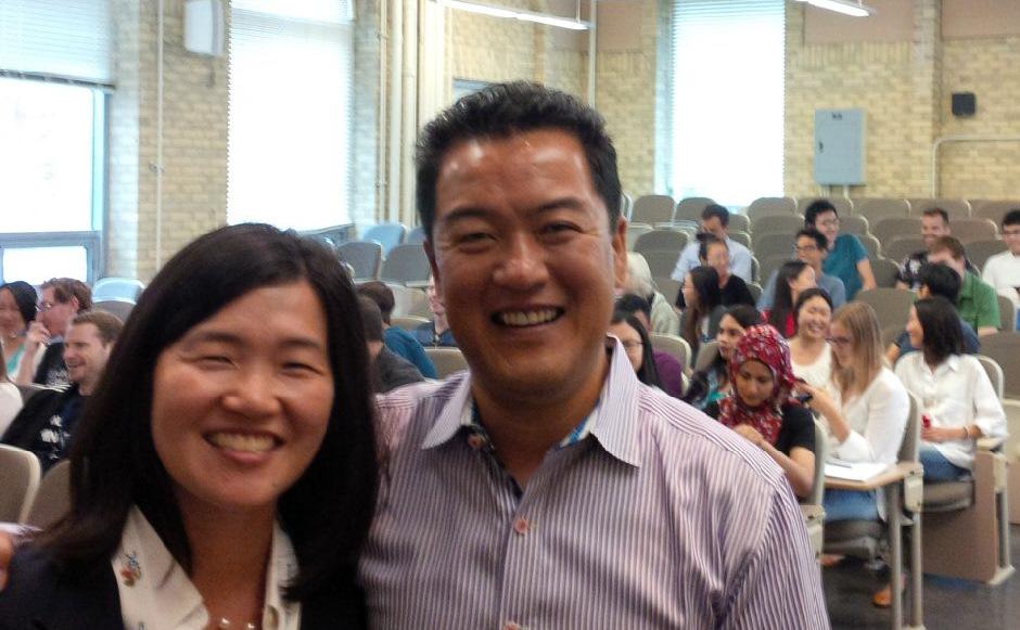 Dr. Nana Lee and Dr. Richard Kim