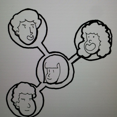 An image of networking.