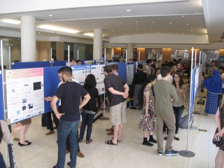 The annual poster session of the Biochemistry Summer Student Research Program.
