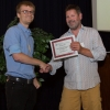 Simon Wisnovsky receives the Cheifetz award for top PhD student beyond year 3
