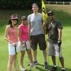 Team Slam - Christine Lai, Megha Shah, Tom Bateman and Trevor Moraes